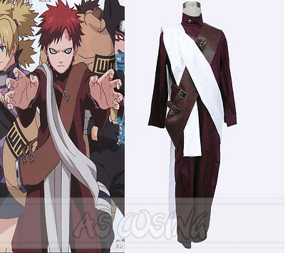 Naruto 3rd Sabaku no Gaara Cosplay Costume Fashion Halloween Dress