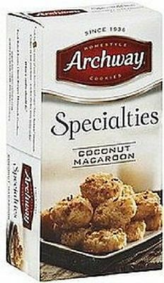 Archway Coconut Macaroon Home Style Cookies