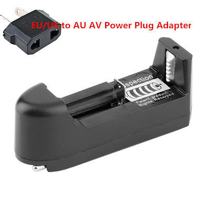 EU Universal Charger For 3.7V 18650 16340 14500 Li-ion Rechargeable Battery G#