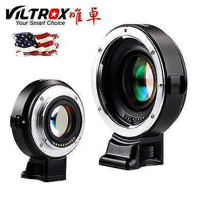 Viltrox Auto focus Reducer Speed Booster Adapter Canon EF EOS Lens to Sony NEX
