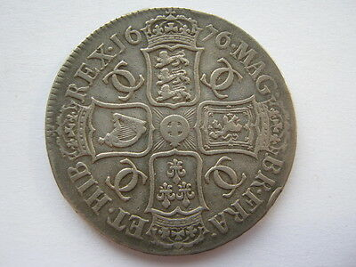 1676 Charles II Crown NVF ESC 51 ACS