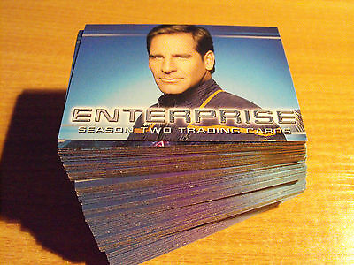 Star Trek Enterprise Season 2 Basic Set Of 81