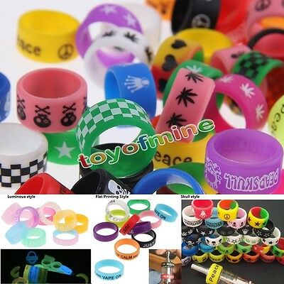 Vape Band Rings 10pcs/ Sets For  New Designs Silicone FC
