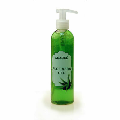 Anagel Aloe Vera Gel with pump dispenser 250ml 500ml