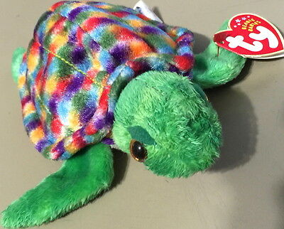 TY Beanie Baby ZOOM the SEA TURTLE Retired Babies Style #04545 MWMT Mint Tag New
