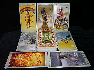 Sealed Brand New! Native American Tarot Card Deck Oracle Apache Cherokee Sioux