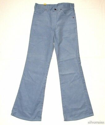 BIG YANK Vintage Corduroy Pants 70's CORDS Western Boot Flare Patch NWT NOS USA