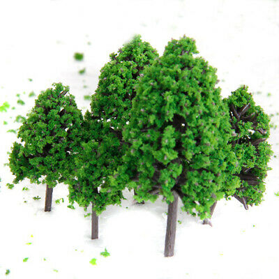 12 ASSORTED Scale Model Tree Train Railway Architectural Scenery Layout O HO