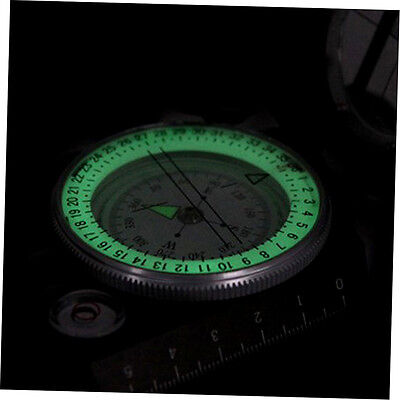 New Lensatic Compass Military Camping Hiking Metal Survival Marching G#