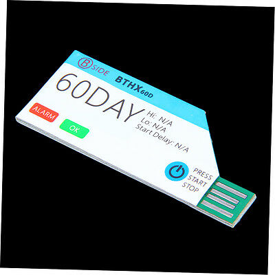 BSIDE 60Days Single Use USB Waterproof Cold Chain Temperature Data Logger G#