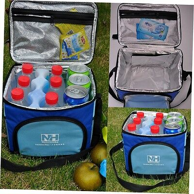 Portable Insulated Thermal Cooler Picnic Lunch Box Carry Tote Storage Bag G#