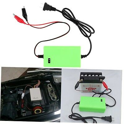 12V 2A Voltage Rechargeable Battery Power Charger 220V AC for Motorcycle G#