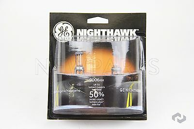 Headlight Bulb Nighthawk Double Blister Pack GE Ultra Bright 9006 9006NH/BP2