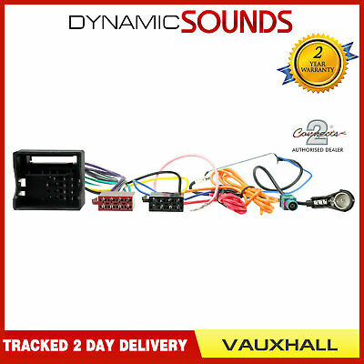 Connects2 CT20VX03 Car Stereo Aerial & ISO Wiring Harness Lead For Vauxhall