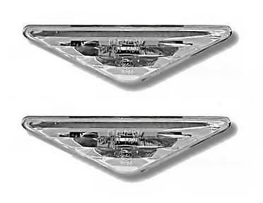 Ford Focus Mk1  2001-2004 Crystal Clear Side Repeaters 1 Pair