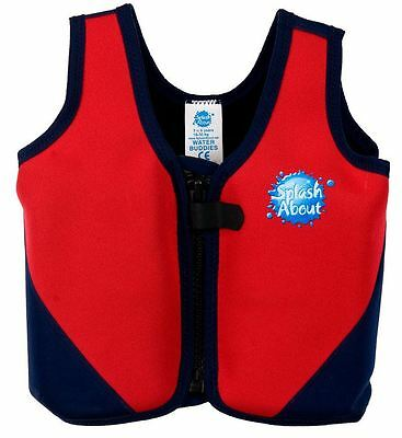 Splash About Float Jacket - Red/Navy - Small or Medium