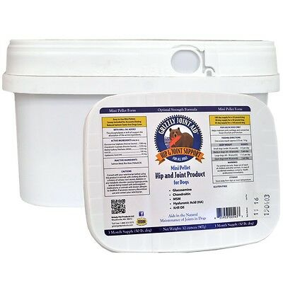 Grizzly Joint Aid Pellet Form for Dogs 32 oz