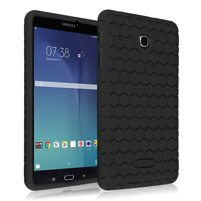 For Samsung Galaxy Tab E 8.0 SM-T377 8-inch Shock Proof Silicone Back Cover Case