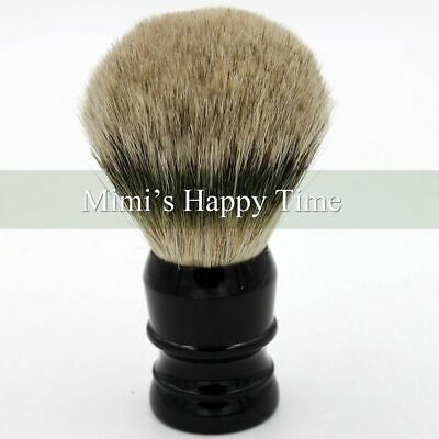 Extra Density 100% Silvertip Finest Badger Hair Shaving Brush 29mm Knot Black