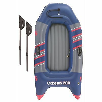 SEVYLOR Colossus 2 Person Inflatable 14 Guage PVC Boat Raft w/ Oars | 2000014138