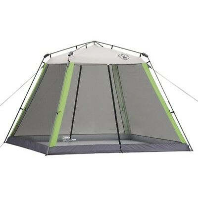 COLEMAN Camping Instant Screened Tent Shelter Canopy w/ Carry Bag | 10' x 10'