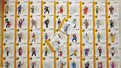 Books + passports  Tintin  collection officielle all Numbers New  Hergé figure