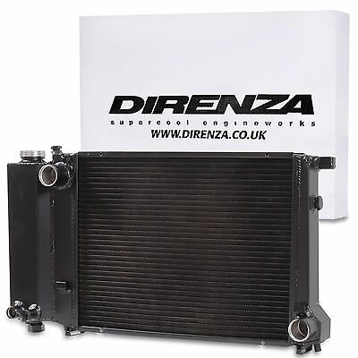 Black Direnza Aluminium Radiator Rad For Bmw 3 5 Series E36 E30 E34 318 320 325