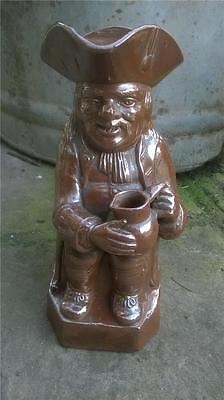 Large RARE Early Victorian antique TOBY JUG - OLDFIELD & CO  MAKERS  Pottery Vgc