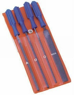 Draper 14184 4 Piece 100Mm Warding File Set With Handles