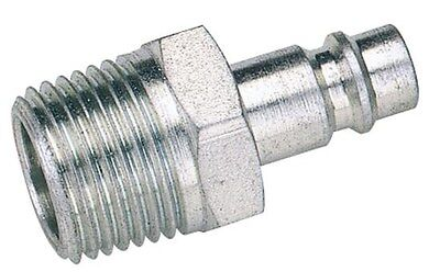 "Draper 54414 1/8"" Bsp Male Nut Pcl Euro Coupling Adaptor (Sold Loose)"