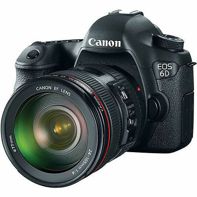 Canon EOS 6D DSLR Camera with 24-105mm f/4L Lens 8035B009