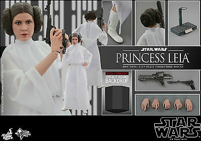 Hot Toys 1/6 Star Wars Episode Iv Mms298 Princess Leia Special Edition Figure