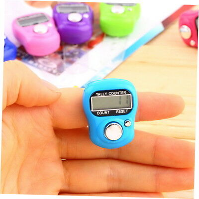 Stitch Marker And Row Finger Counter LCD Electronic Digital Tally Counter GH