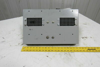 """Electric Enclosure Cooling Fan 1/2HP 115V  W/Two 2"""" W x 4 Dia. Wheels 1550 RPM"""