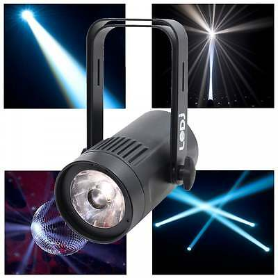 LED Pinspot Par36 White Pin Beam 15W (100w Equiv) Mirror Ball DMX Spot Light