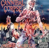 Cannibal Corpse - Eaten Back To Life NEW LP