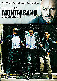 Inspector Montalbano Collection Six New Region 2 Dvd