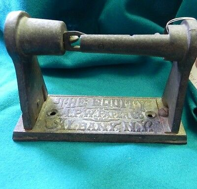 Antique Toilet Paper Holder The Equity APW Paper Co Albany NY