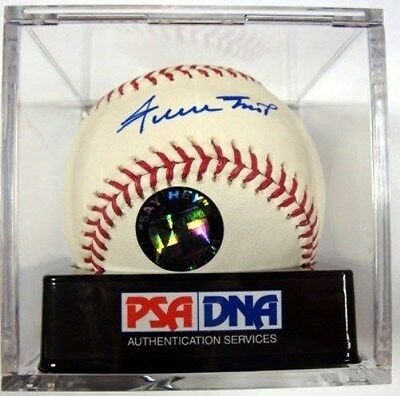 Willie Mays Autographed Signed Official Mlb Baseball Giants Graded 10 Psa/dna