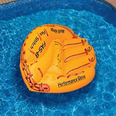 Superior Inflatable Floating Pool Chair Lounge Raft Water Swimline Baseball Glove  Float