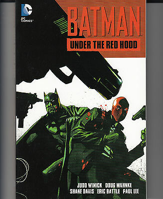Batman Under The Red Hood trade paperback complete edition DC