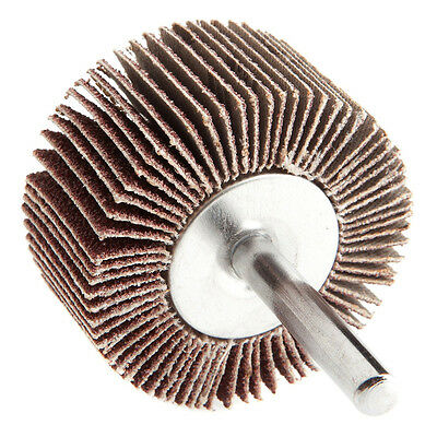 "FORNEY 60184 Aluminum Oxide 1/4"" Shank 2"" x 1"" Mounted Flap Wheel 60G 25000RPM"