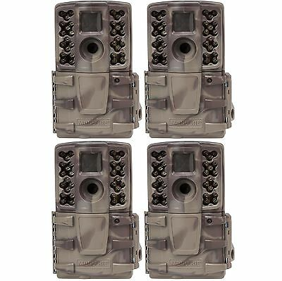 (4) Moultrie No Glow Invisible 12 MP Mini A20i Infrared Game Cameras | A-20i