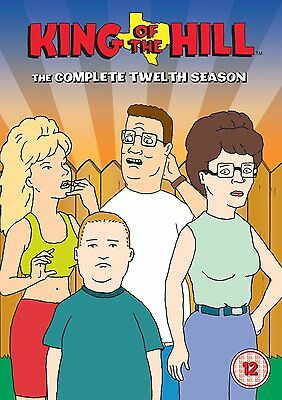 King Of The Hill: The Complete Season 12 - DVD NEW & SEALED (3 Disc) UK Edition!