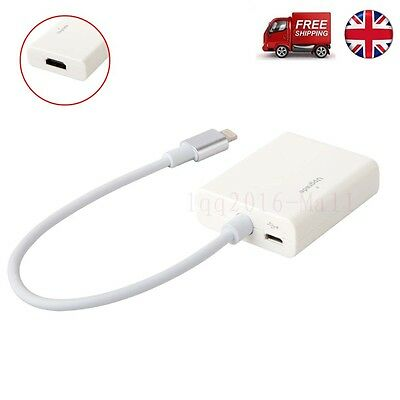 8Pin to HDMI HDTV Cable Adapter for iPhone 5 5S SE 6 6S Plus iPad Mini iPad Air