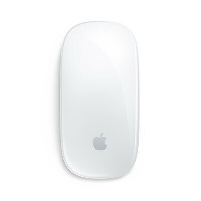 Apple Magic Mouse Bluetooth Wireless Multitouch Surface Laser Mouse - MB829LLA