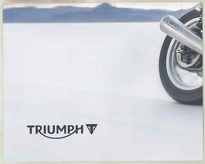 2014 Triumph Motorcycle Brochure Poster wv7459