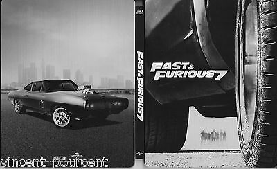 Fast & Furious 7 - Blu Ray Steelbook - Comme neuf