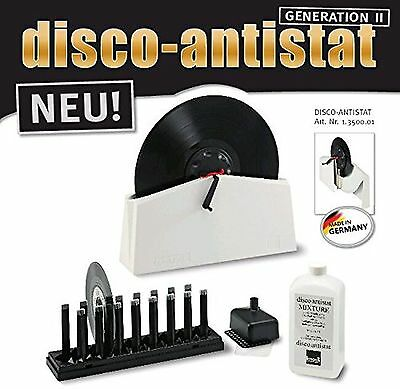 Knosti Disco Antistat Mkii Lp Vinyl Cleaning System | Free Carbon Fibre Brush