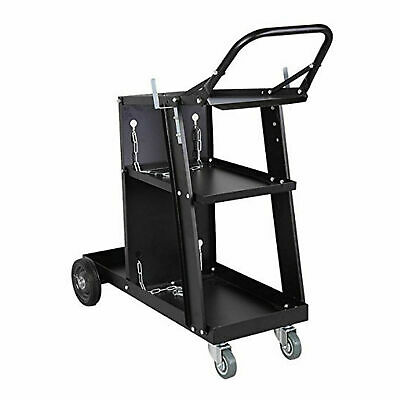 Welding Cart Plasma Cutter Welder Mig Tig Arc Storage For Tanks Gas Bottles